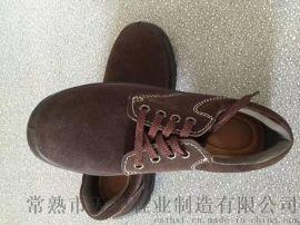 咖啡色反绒牛皮电工绝缘鞋劳保鞋防护鞋安全鞋