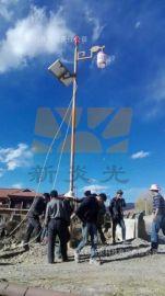 四川藏式民族風格太陽能路燈