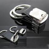 定做牛皮鑰匙扣紀念品鑰匙扣廣告禮品鑰匙扣