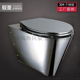 公共厕所工程**304不锈钢座便器挂墙式马桶