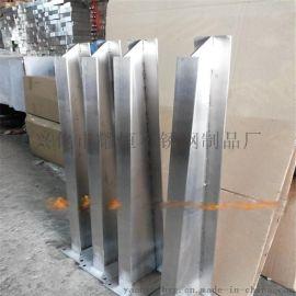 耀恒 厂家定做不锈钢栏杆 挂玻璃立柱 现货供应