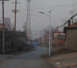 浦城新农村6米30瓦太阳能路灯厂家直销