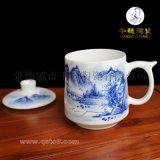 景德镇手绘陶瓷茶杯定制  手绘陶瓷茶杯生产厂家