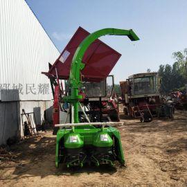 履带式玉米秸秆收割青储机 自走式青贮**机