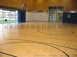 河南篮球场PVC塑胶地板室内专用地胶