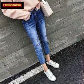 库存杂款女装韩版牛仔短裤 女式牛仔裤批发 **处理尾货服装批发便宜牛仔裤普批发