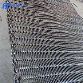 高溫網帶不鏽鋼金屬絲網輸送帶鏈條網(可定制)