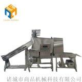 雞米花成套加工設備試機效果@供應上海雞米花生產線