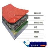 尚志市塑胶跑道价格订做 塑胶跑道厂家