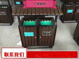 仿古垃圾箱规格型号 学校垃圾箱多少钱