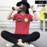 2018新款短袖T恤打底衫廠家直銷便宜韓版T恤批發