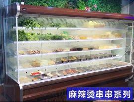 漯河周口哪里有卖串串展示柜 麻辣烫火锅选菜柜定做