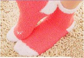 半邊絨襪子