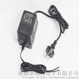 3C/CE认证 220V/24V2A交流线性电源