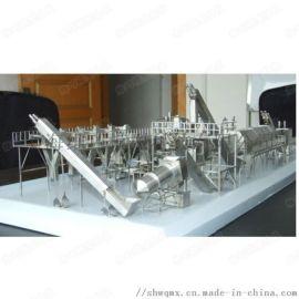 仿真食品饮料灌装设备模型定制不锈钢制作牛奶生产线