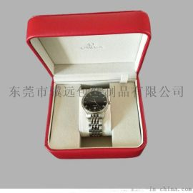 高档皮质手表盒 品牌手表包装盒 手表礼盒定制