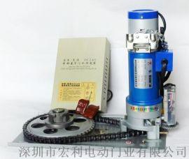 观澜普通卷闸门加装储备电池停电照常使用各种规格电机