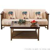 匠銅木沁香沙發純銅傢俱銅木新中式純銅實木組合沙發廠
