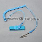 深圳 PU銀紗防靜電手腕帶 有線靜電環