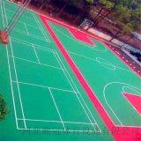 梁平县气垫悬浮地板篮球场塑胶地板拼装地板