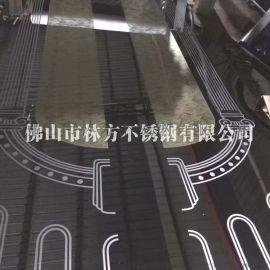 无锡 酒店电梯轿厢背景不锈钢蚀刻装饰板加工