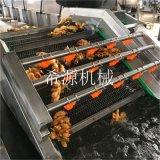 定制水浴式大姜清洗机 大型大姜清洗深加工设备