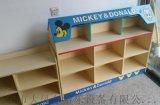 南宁幼儿园组合书柜 实木玩具柜 南宁幼儿家具厂