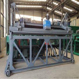 发酵床翻耙机有机肥设备 鸡粪牛粪好氧翻抛机 处理综合治污技术