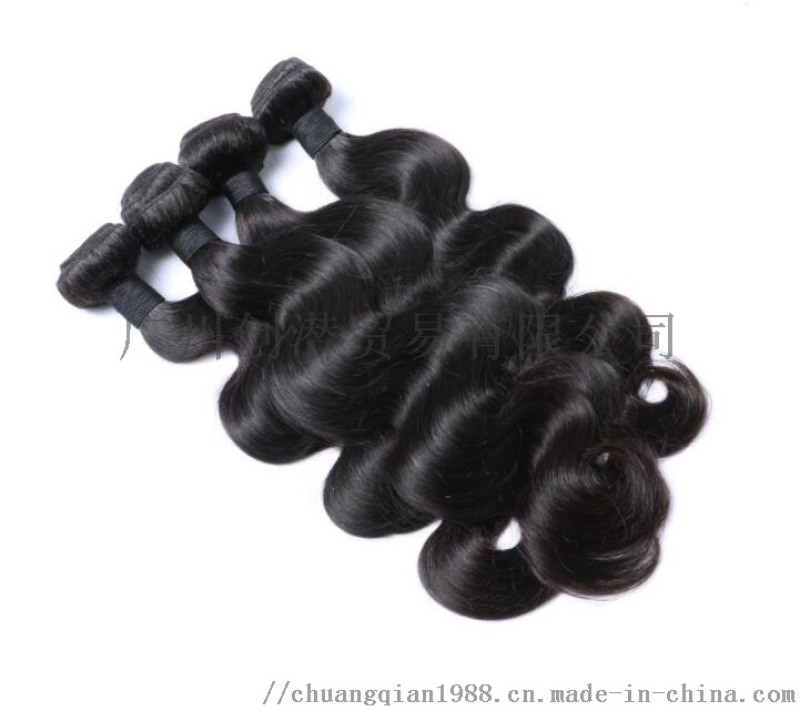 巴西真人发帘 蛇曲9A Brazilian human hair body wave Bundles