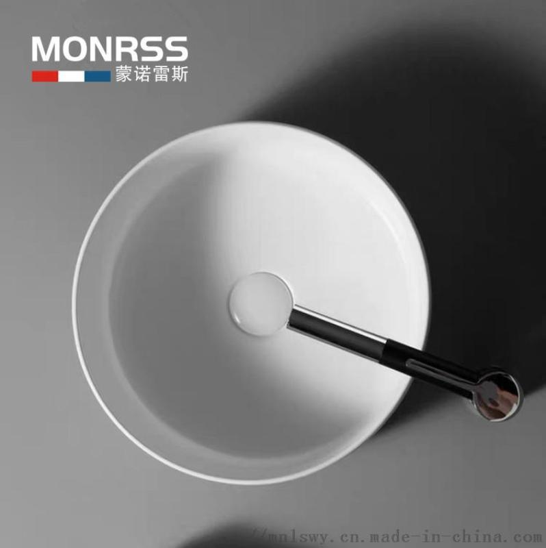 哑光白色 黑色 洗手盆 欧式艺术盆