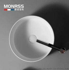 啞光白色 黑色 洗手盆 歐式藝術盆