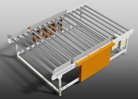 床垫机械 双层储存台 床垫存储输送台