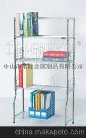 金属书架 儿童书报架 简易宜家书架 碳钢收纳书柜