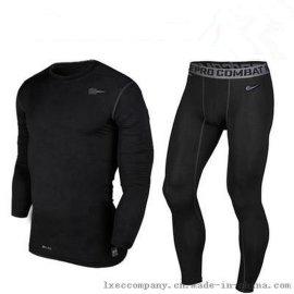 pro篮球运动紧身衣男士长袖短袖高弹跑步长裤健身训练服套装