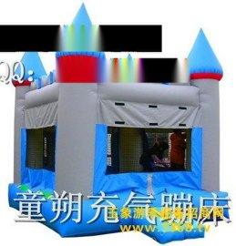ts112充气城堡 中国公园火爆的游乐项目