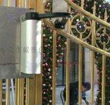 冷雨曲臂式平開電動門廠家電話 側裝小區廣告門電機