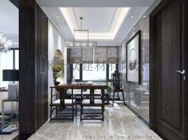 廠家直銷專業黑白灰大理石瓷磚水刀拼花手工磚定制