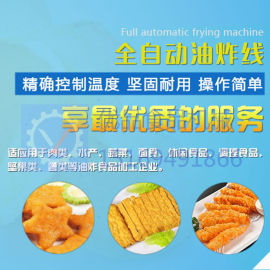 果蔬脆油炸机 鱼豆腐连续油炸机 洋葱圈油炸机