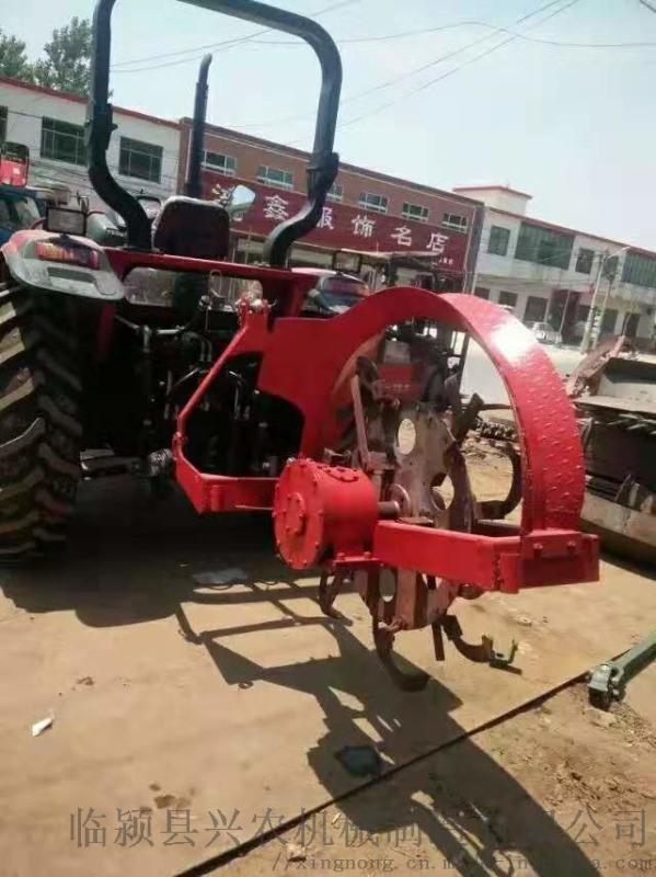 四轮带动开沟机  农田排水开沟机