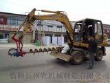 打樁機廠家   小型公路護欄打樁機