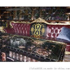 酒店KTV会所装修卡座沙发定制设计