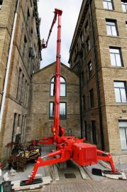 移动式轻型高空作业工具;紧凑履带式蜘蛛高空车15-50米作业高度