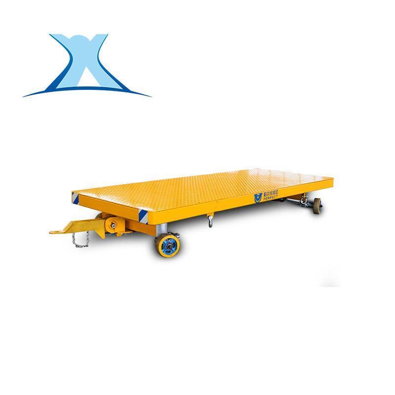 短途装卸四轮 拖车 电动平板拖车加工