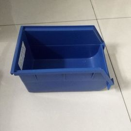 多规格塑料零件箱B3 蓝色全新料零件盒 现货标准尺寸零件箱供应