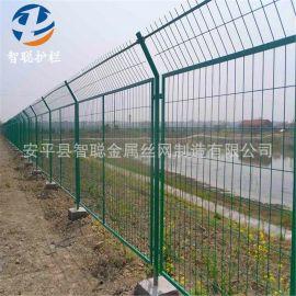 批发草绿色高速公路框架护栏网 铁丝园林防护网圈地框架围栏网