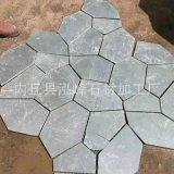 河北文化石绿色冰裂纹牡丹红文化石厂家