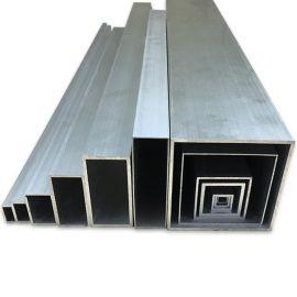 厂家直销铝合金四方管80*100外墙木纹铝方通幕墙