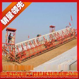 供应渠道削坡机 山东路得威高效率渠道施工设备 渠道抹光机
