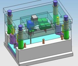 中国上海松江欣运塑胶塑料模移动电源外壳设计