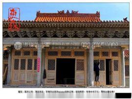 广安雕花门窗 老式门窗 实木格子门窗批发厂家